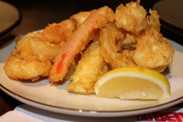 scallop tempura