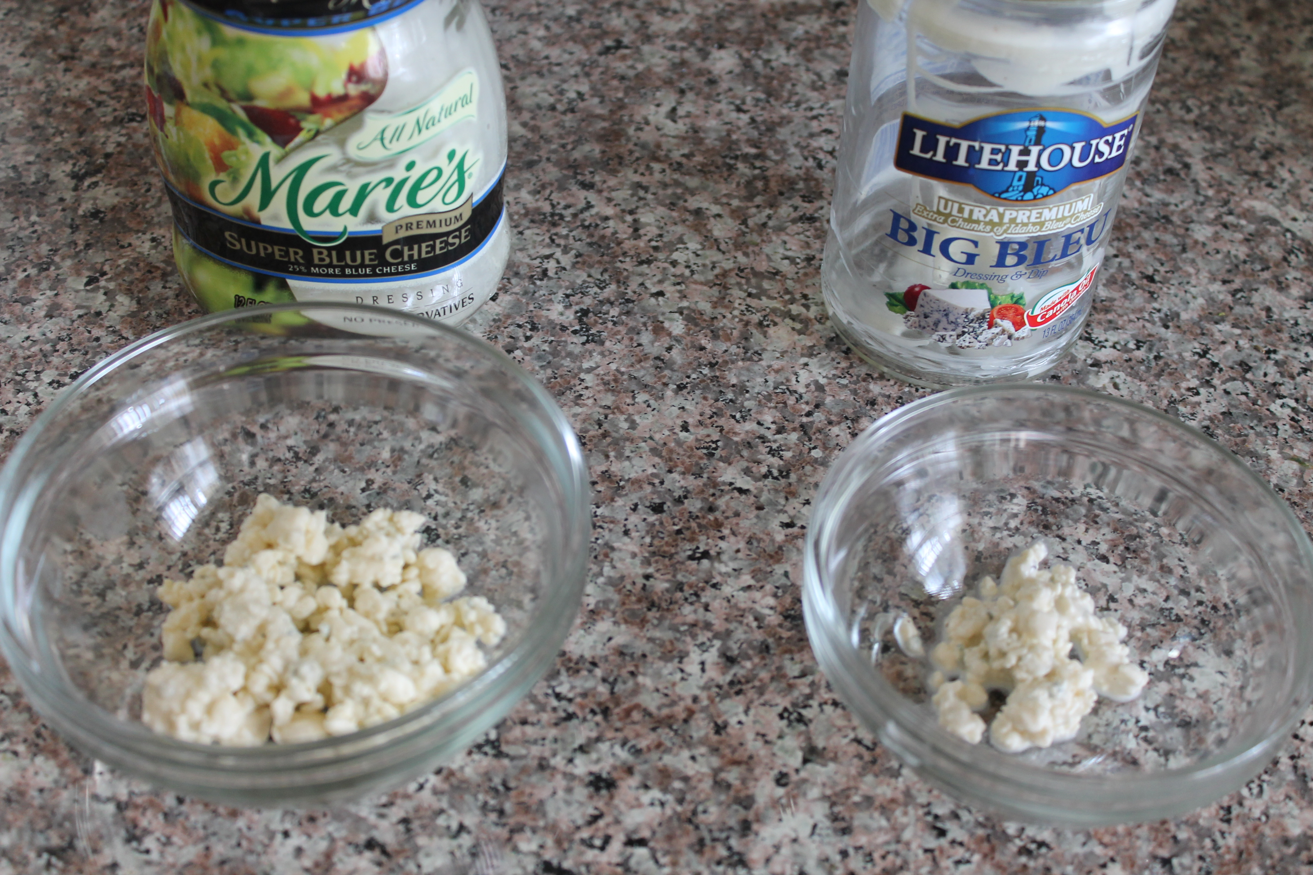Blue Cheese Dressing Comparison: Litehouse vs. Marie's | Seasoning ...