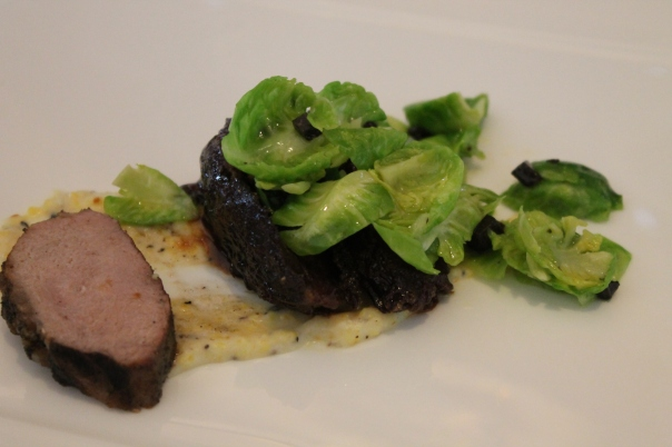 iberico pork two ways; paired with silver oak cabernet sauvignon, alexander valley 2008