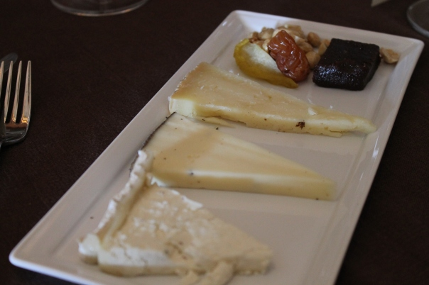 artisan truffle cheeses; paired with silver oak cabernet sauvignon, napa valley 2008