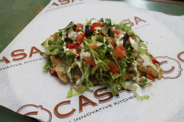 c casa's truffled enchiladas