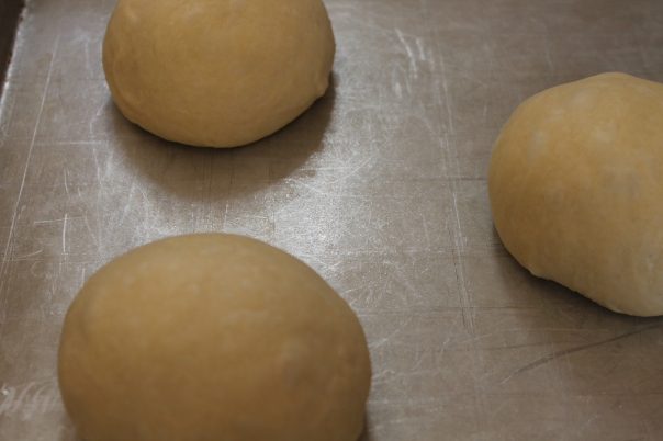 portioned dough