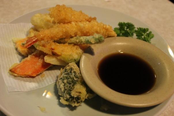 shrimp vegetable tempura