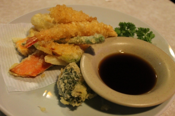 shrimp vegetable tempura
