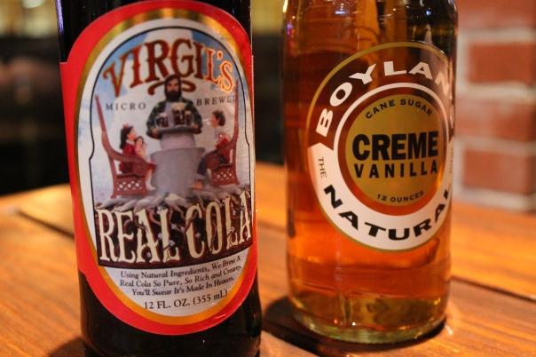 tasty, real soda