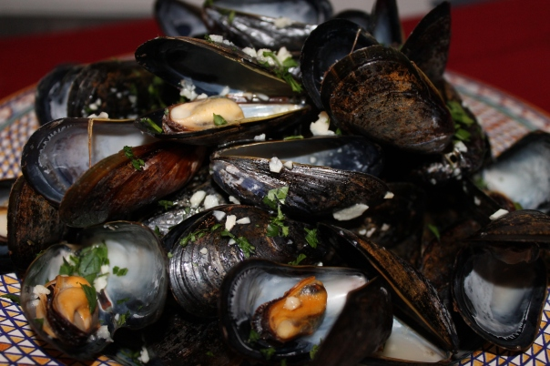 mussels and mussels alive, alive oh!