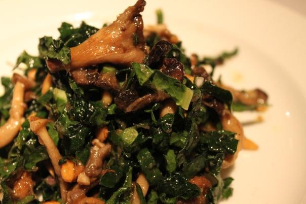 roasted seasonal mushrooms and medjool dates