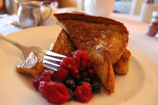 thick cut vanilla cinnamon french toast