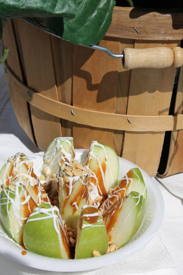 kabob shack's caramel apple blossom