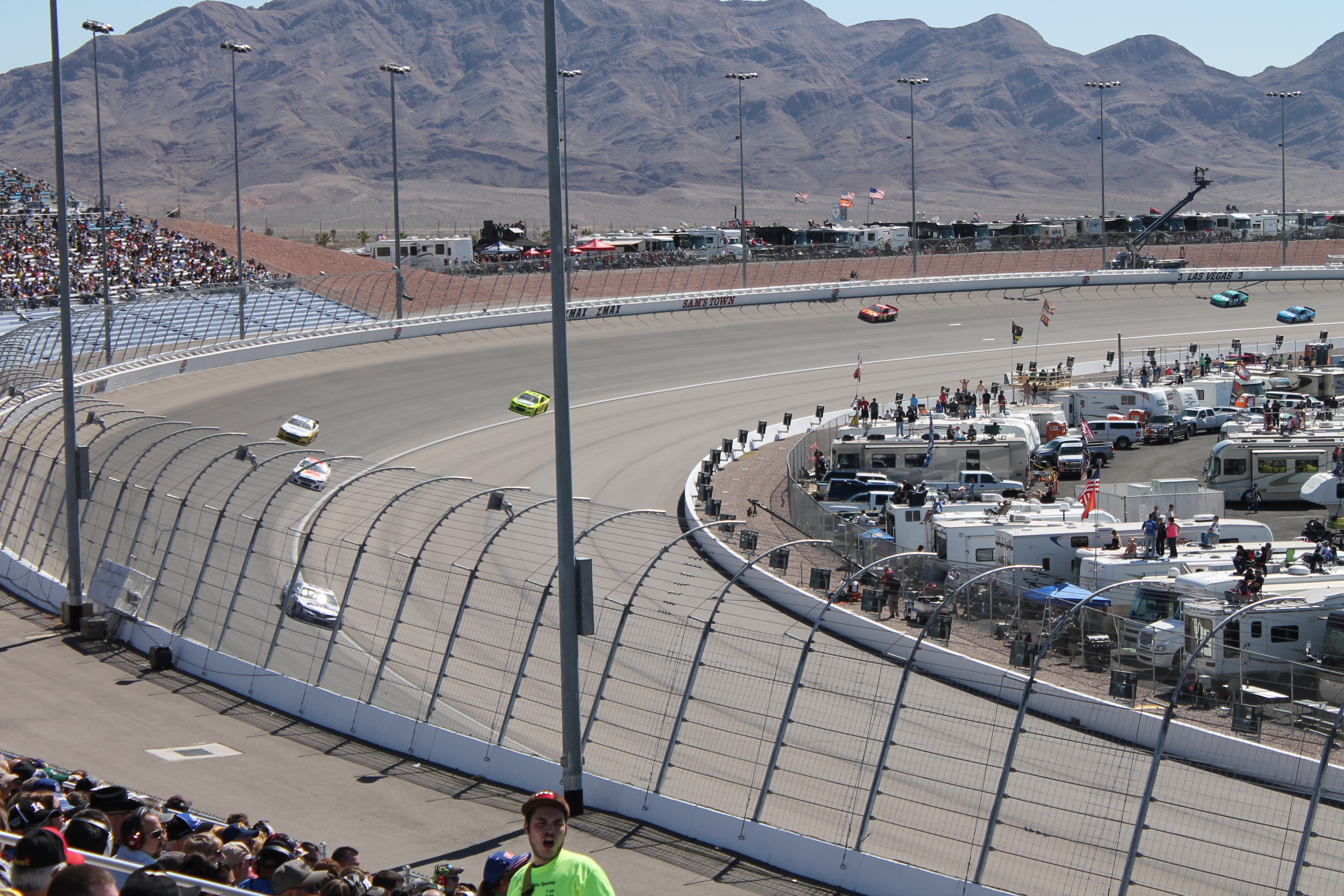 Nascar cup series track history nevada nascar for Las vegas motor speedway open track days