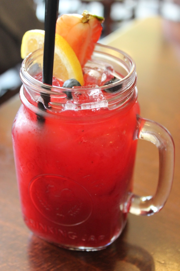 house strawberry lemonade