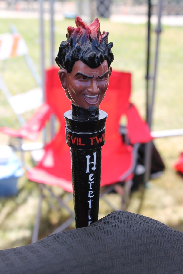 heretic evil twin tap handle