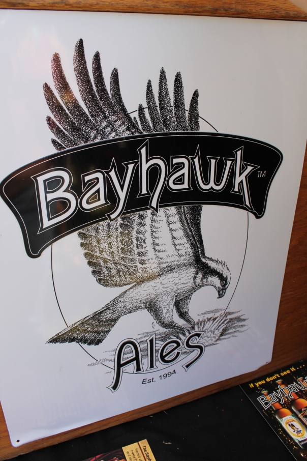 bayhawk ales - not from our bay, but still from california