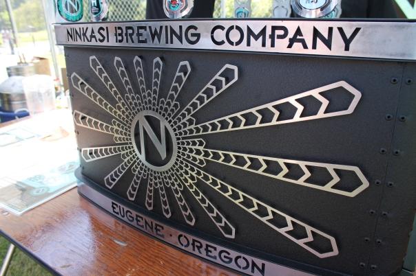 ninkasi brewing had perhaps the most artful keg refrigerator