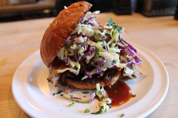 bbq pork loin sandwich