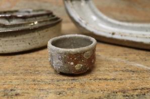 thomas arakawa wood fired sake cup