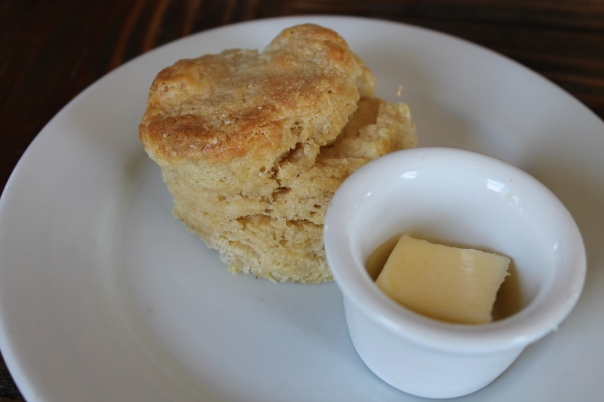 biscuit and butter sans seasonal fruit jam
