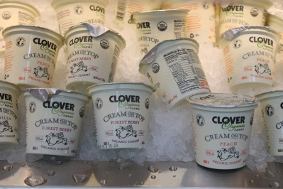 clover cream on top yogurt