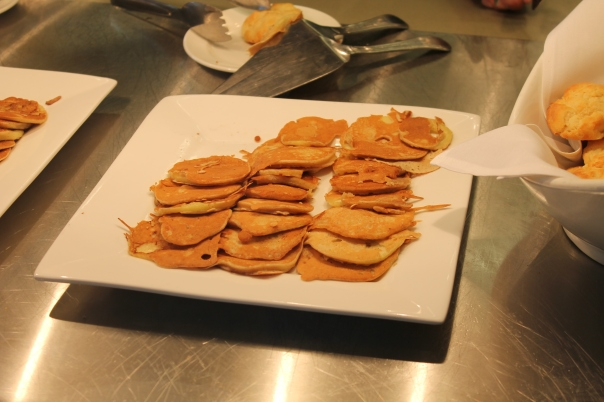 carla's fried apple pancakes