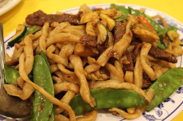 saday beef chow mein