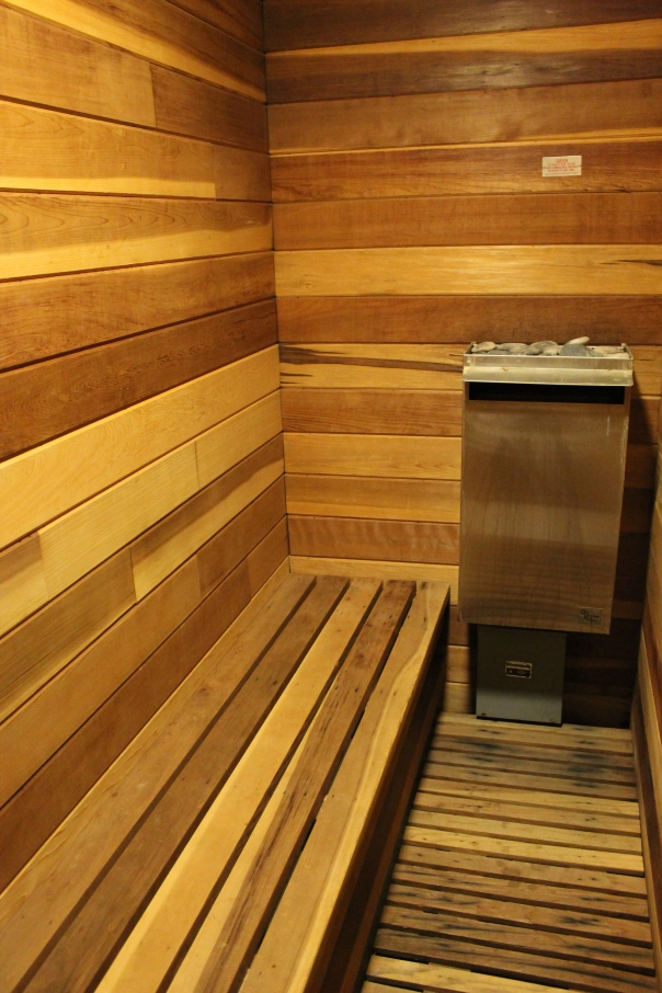 eight-person sauna