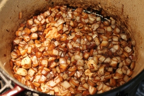 use onions to deglaze