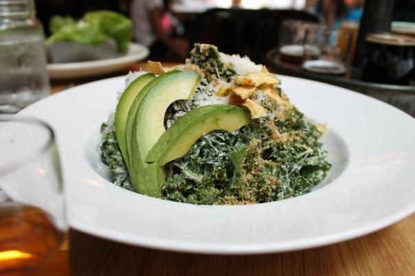 avocado kale caesar