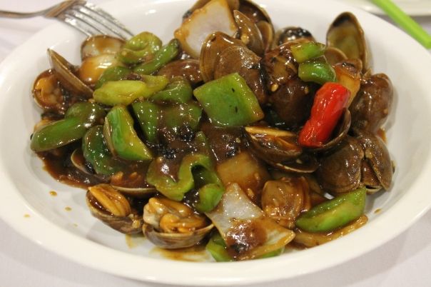 clam in black bean sauce