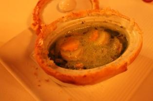 baekeoffe of escargots & truffles