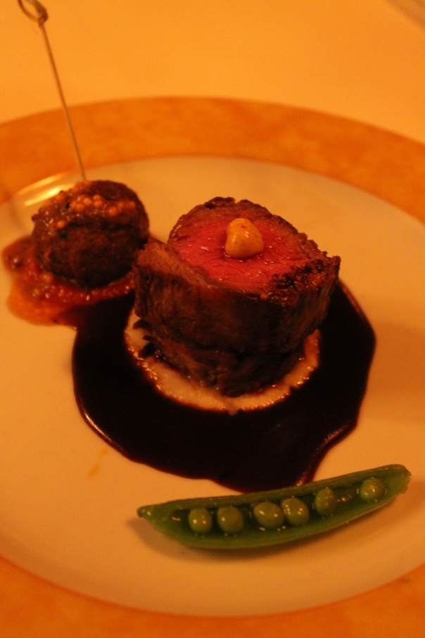 third course - trio of lamb