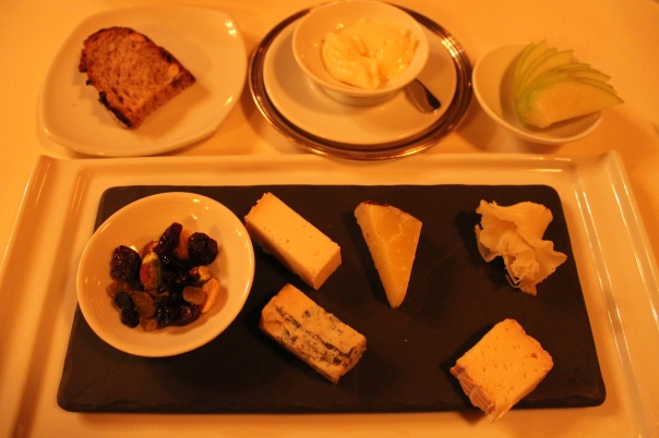 fourth course - assortment of artisanal cheeses