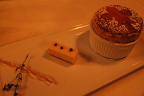 fifth course - amaretto souffle