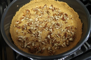 layer the pecans