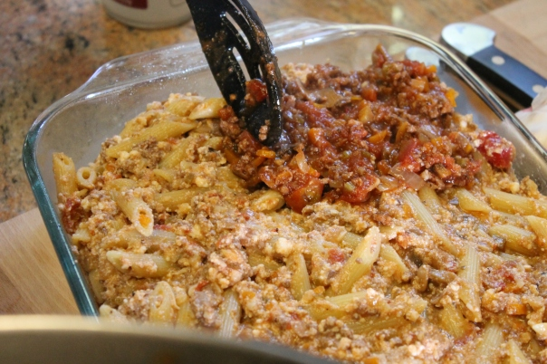 layering sauce