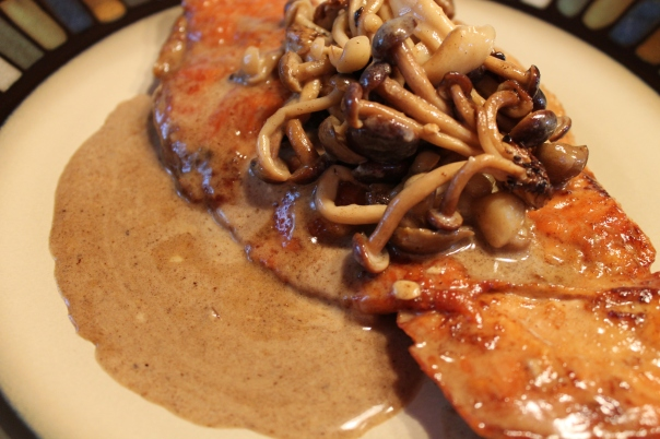 turkey marsala with wild mushrooms