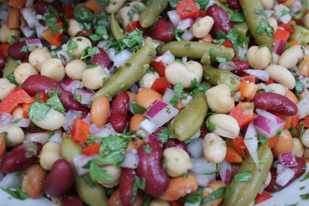 kelly's bean salad