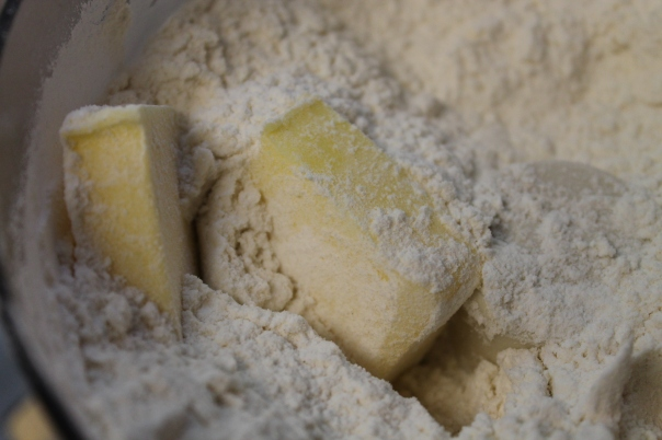 raw dough ingredients