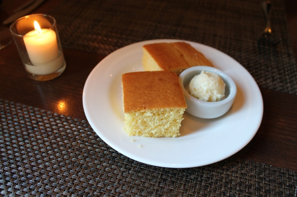 cornbread and honey butter