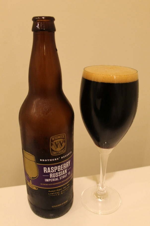 raspberry russian imperial stout '13