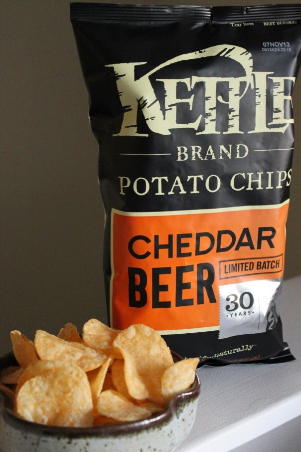 cheddar beer kettle chips