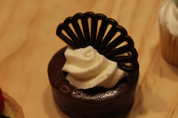 mini chocolate cheesecake