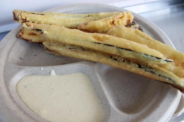 zucchini pakoras
