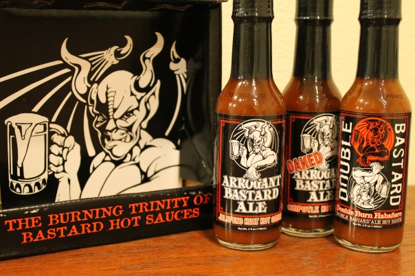 the bastard hot sauce trinity