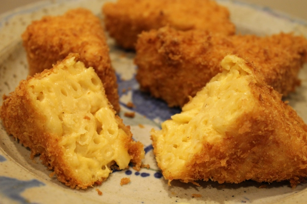 fried mac 'n cheese
