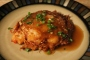 Shrimp Egg Foo Young with Gravy