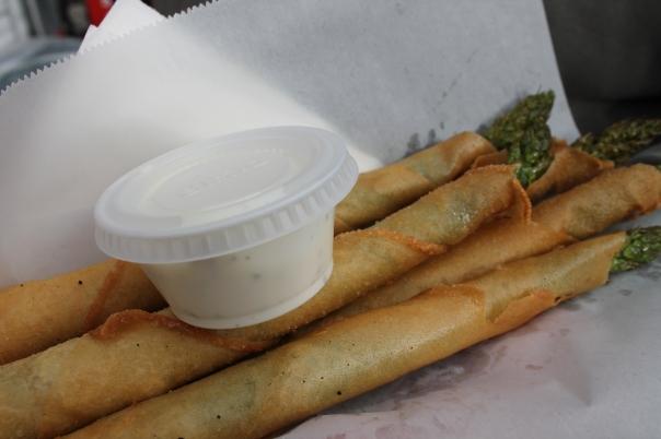 asparagus lumpia