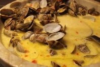 lemon clams