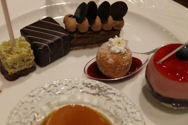 second round of desserts